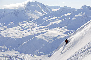 Alaska Heli-Skiing and Heli-boarding Backcountry Extreme