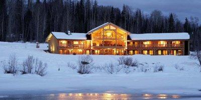 Heli-skiing canada lodge, canadian helicopter skiing lodge
