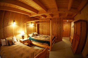 heliski lodge rooms, skeena heli-ski rooms